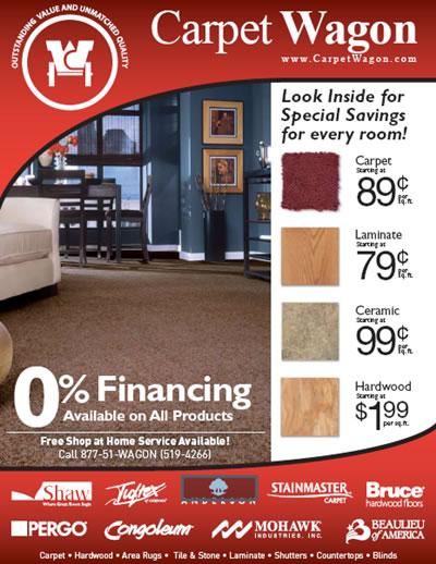 Carpet & Flooring Sale Items