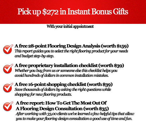 Carpet & Flooring Bonus