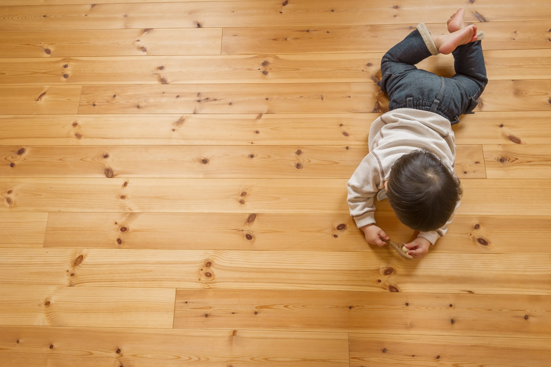 Hardwood flooring for the family